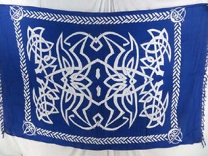 celtic sarong wraps wiccan tapestries pagan wall hangings celtic wall art assorted colors and designs randomly picked by our warehouse staffs