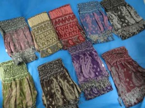 Tasselled paisly boho scarf shawl wrap. Soft, thick, warm and cozy.
