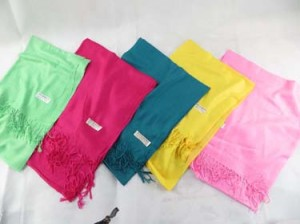 Solid color pashmina scarves shawl wrap stole