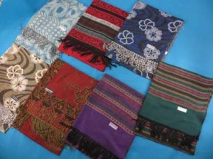 Mixed designs pashmina scarves shawl wrap stole.
