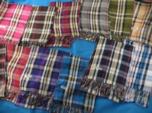 Mens and unisex plaid checked pashmina scarves shawl wrap stole, keffiyeh scarves, grid oblong scarf