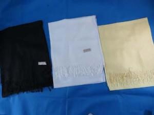 Solid color pashmina scarves shawl wrap stole.