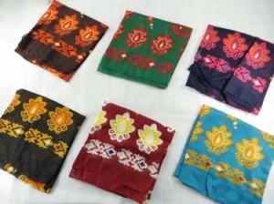 Trible design large square scarves shawl wrap stole.