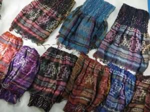 Double layer fashion shawls wraps with Southwestern prints, Thick, soft, warm, reversible, stylish