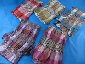 women's fashion shawls wraps in pastel colors, very soft and comfortable