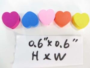 heart wooden button flatback applique embellishment for scrapbooking