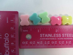 resin bow mixed colors flatback applique embellishment for scrapbooking