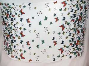 flying butterfly sarong