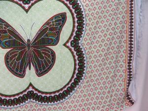 thousand dots butterlfy sarong