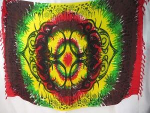 hippie fashion rasta large tattoo tribe kanga pareo