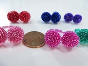 double balls open fashion rings, mixed sizes between 6 to 10