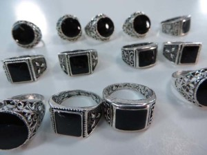 vintage style enamel fashion rings