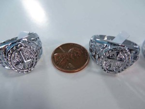 vintage style fashion rings, mixed sizes between 6 to 10