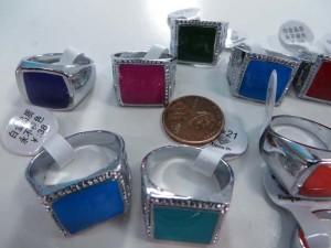 vintage style enamel fashion rings