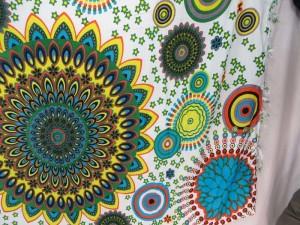 mandala plants universe sarong
