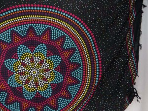 Indian Star Hippie Sarong Mandala Psychedelic Wall Hanging Tapestry Shawl Stole