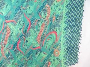 green bohemian hippie sarong swimwear beach sun block clothinge