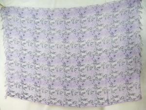 light purple grey snake skin sarong
