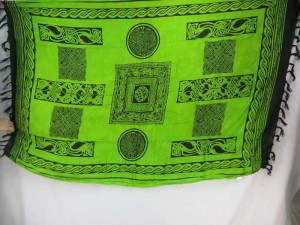 green celtic sarongs wall hangings hippie shawls