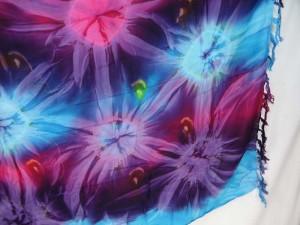 Star Burst Tie Dye Cover Sarong Wrap Hippie Sexy Skirt