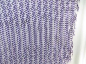 purple white geomatrical print sarong