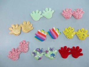 hand padded applique / scrapbooking craft DIY / wedding decoration