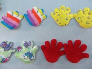 hand padded applique / scrapbooking craft DIY / wedding decoration