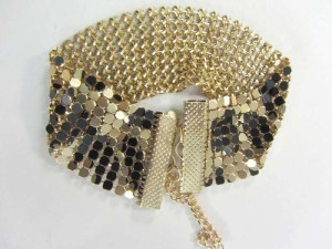soft metal cloth bracelets in mixed designs