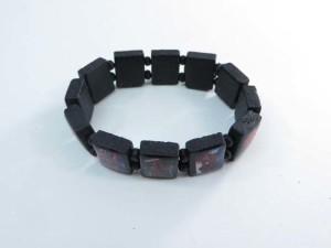 spiderman wooden stretchy bracelets wristband