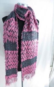 zig zag winter knitted scarves neckwarmer bubble shawls