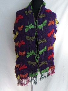 dragonfly winter knitted scarves neckwarmer bubble shawls.