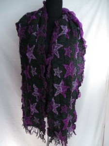 stars winter knitted scarves neckwarmer bubble shawls