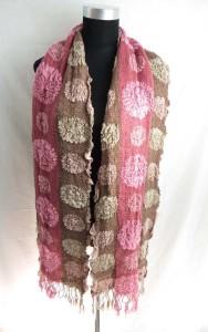 mandala circles winter knitted scarves neckwarmer bubble shawls