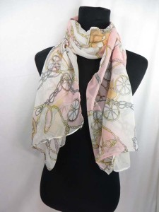 Mixed designs chiffon scarf shawl wrap. Fashion scarf for all seasons.