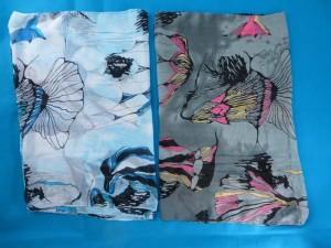 vintage floral chiffon scarves scarf shawl wrap. Fashion scarf for all seasons.