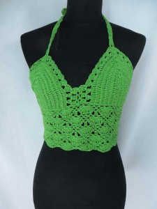 Sexy beachwear fishnet crochet top Handmade in Bali Indonesia One size fits all, will fits small to medium size women. mixed colors randomly picked by our warehouse staffs