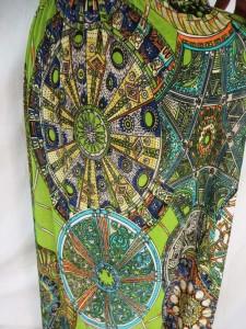 mixed designs boho long dress / maxi dress / boho beach dress / maxi sundress / vacation dress / halter dress