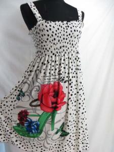 Retro vintage bohemian short dress. Hippy boho mini dress, tube top dress, boho beach dress, vintage sundress, vacation dress
