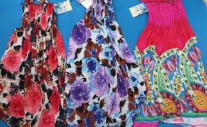 Retro vintage bohemian short dress. Hippy boho mini dress / tube top dress / boho beach dress / vintage sundress / vacation dress / halter dress.