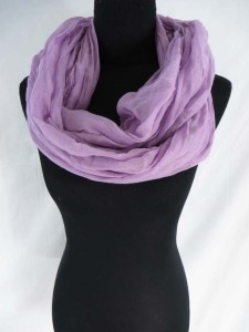 plain color infinity scarf / circle loop long wrap / endless shawl / cowl neck circular scarf / eternity scarf / double loop scarf