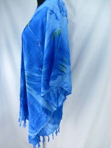 tie dye rayon womens poolside kaftan top shirt Made of 100% rayon, handmade in Bali Indonesia One size fits for all (Fits size S, M, L, X., 1X, 2X, 3X) only 2 colors as shown