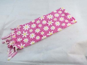 daisy flower kids scarf winter scarf