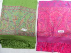 double-sided vintage inspired paisley pashmina scarves shawl wrap stole