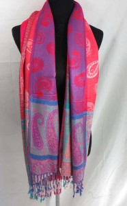 double-sided vintage inspired paisley pashmina scarves shawl wrap stole Soft, warm, stylish, reversible, very smooth touch, high quality