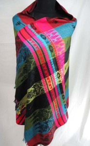 double-sided vintage inspired pashmina scarves shawl wrap stole