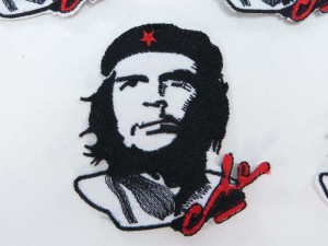 Che Guevara rebel Cuban revolutionary Marxist political figure embroidered iron on patch / embroidered cloth badge motif applique / sew on applique patch