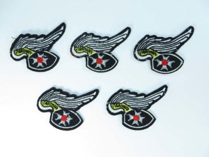 eagle wing cross embroidered iron on patch / embroidered cloth badge motif applique / sew on applique patch