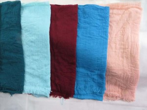 hippie style solid color lightweight scarf wrap for all seasons