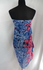 tropical flowers maxi long fashion scarves sarong wrap