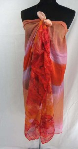 contemporary abstract print maxi long fashion scarves sarong wrap